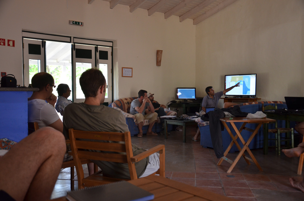 An informal talk about modeling for our region of operation with Winds, currents, bathymetry, temperature and chlorophyll courtesy of data from Portugal and Spain.